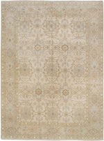 n6131 - Transitional Tabriz Rug (Wool and Silk) - 10' x 14' | OAKRugs by Chelsea affordable wool rugs, handmade wool area rugs, wool and silk rugs contemporary