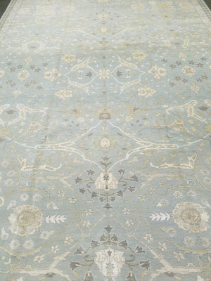 n6133 - Transitional Tabriz Rug (Wool and Silk) - 9' x 12' | OAKRugs by Chelsea high end wool rugs, hand knotted wool area rugs, quality wool rugs