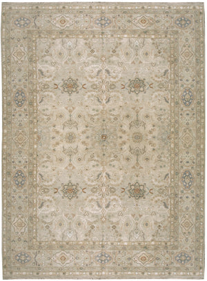 n6142 - Classic Tabriz Rug (Wool and Silk) - 8' x 10' | OAKRugs by Chelsea affordable wool rugs, handmade wool area rugs, wool and silk rugs contemporary