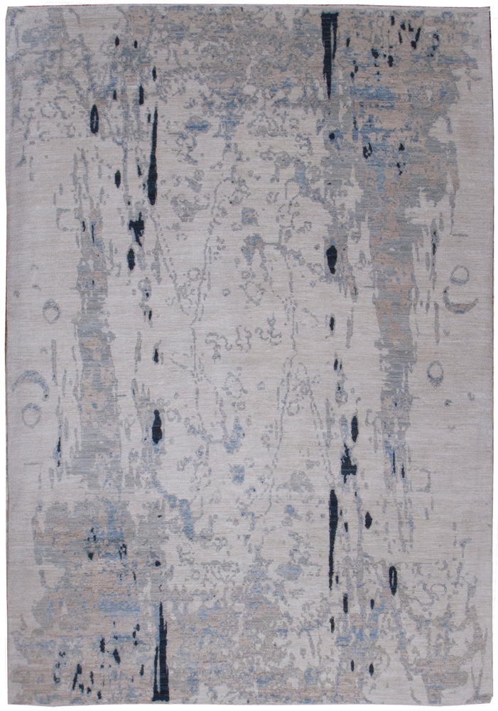 n6160 - Contemporary Abstract Rug (Wool) - 6' x 9' | OAKRugs by Chelsea inexpensive wool rugs, unique wool rugs, wool rug vintage