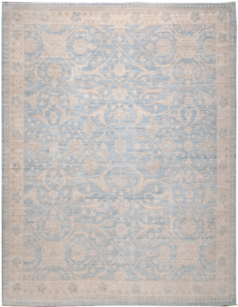 n6164 - Classic Zeigler Rug (Wool) - 8' x 10' | OAKRugs by Chelsea affordable wool rugs, handmade wool area rugs, wool and silk rugs contemporary