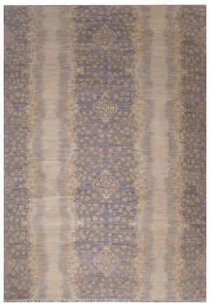 n6167 - Transitional Pakistan Rug (Wool) - 6' x 9' | OAKRugs by Chelsea inexpensive wool rugs, unique wool rugs, wool rug vintage