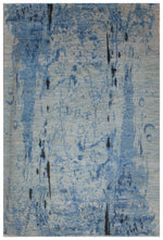 n6169 - Contemporary Abstract Rug (Wool) - 6' x 9' | OAKRugs by Chelsea inexpensive wool rugs, unique wool rugs, wool rug vintage