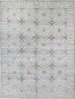 n6192 - Transitional Rug (Wool and Silk) - 8' x 10' | OAKRugs by Chelsea inexpensive wool rugs, unique wool rugs, wool rug vintage