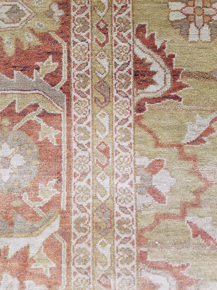 n6211 - Classic Tabriz Rug (Wool) - 8' x 10' | OAKRugs by Chelsea wool bohemian rugs, good quality wool rugs, vintage wool braided rug