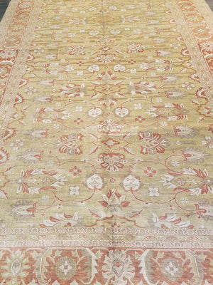n6211 - Classic Tabriz Rug (Wool) - 8' x 10' | OAKRugs by Chelsea high end wool rugs, hand knotted wool area rugs, quality wool rugs