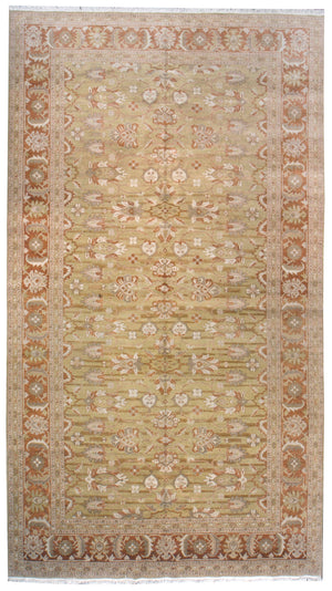 n6211 - Classic Tabriz Rug (Wool) - 8' x 10' | OAKRugs by Chelsea affordable wool rugs, handmade wool area rugs, wool and silk rugs contemporary