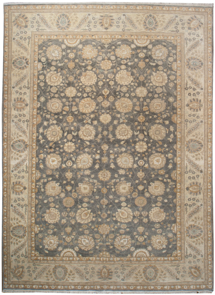 n6212 - Classic Tabriz Rug (Wool) - 10' x 14' | OAKRugs by Chelsea inexpensive wool rugs, unique wool rugs, wool rug vintage