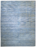 n6227 - Comtemporary Solid Rug (Bamboo Silk) - 9' x 12' | OAKRugs by Chelsea inexpensive wool rugs, unique wool rugs, wool rug vintage