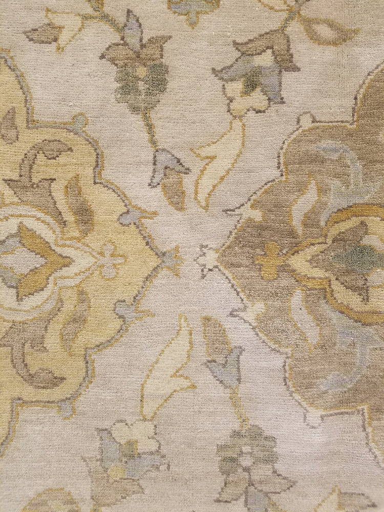 n6228 - Classic Zeigler Rug (Wool) - 12' x 15' | OAKRugs by Chelsea wool silk rugs contemporary, handmade modern wool rugs, wool silk area rugs contemporary