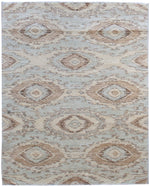 n6231 - Transitional Mid-Century Rug (Wool) - 5' x 6' | OAKRugs by Chelsea inexpensive wool rugs, unique wool rugs, wool rug vintage