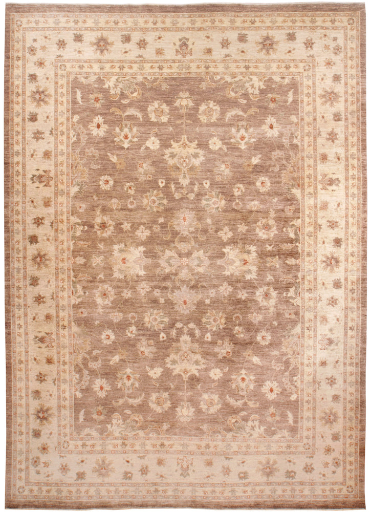 n6242 - Transitional Zeigler Rug (Wool) - 10' x 14' | OAKRugs by Chelsea high end wool rugs, good quality rugs, vintage and antique, handknotted area rugs