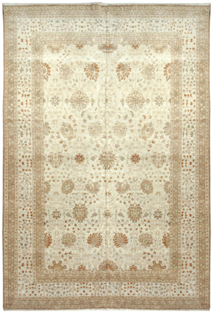 n6244 - Transitional Tabriz Rug (Wool) - 9' x 12' | OAKRugs by Chelsea high end wool rugs, good quality rugs, vintage and antique, handknotted area rugs