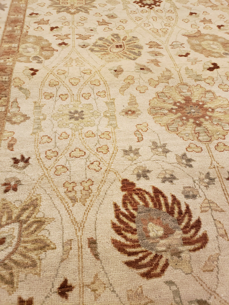 n6245 - Transitional Tabriz Rug (Wool) - 5' x 20' | OAKRugs by Chelsea high end wool rugs, good quality rugs, vintage and antique, handknotted area rugs