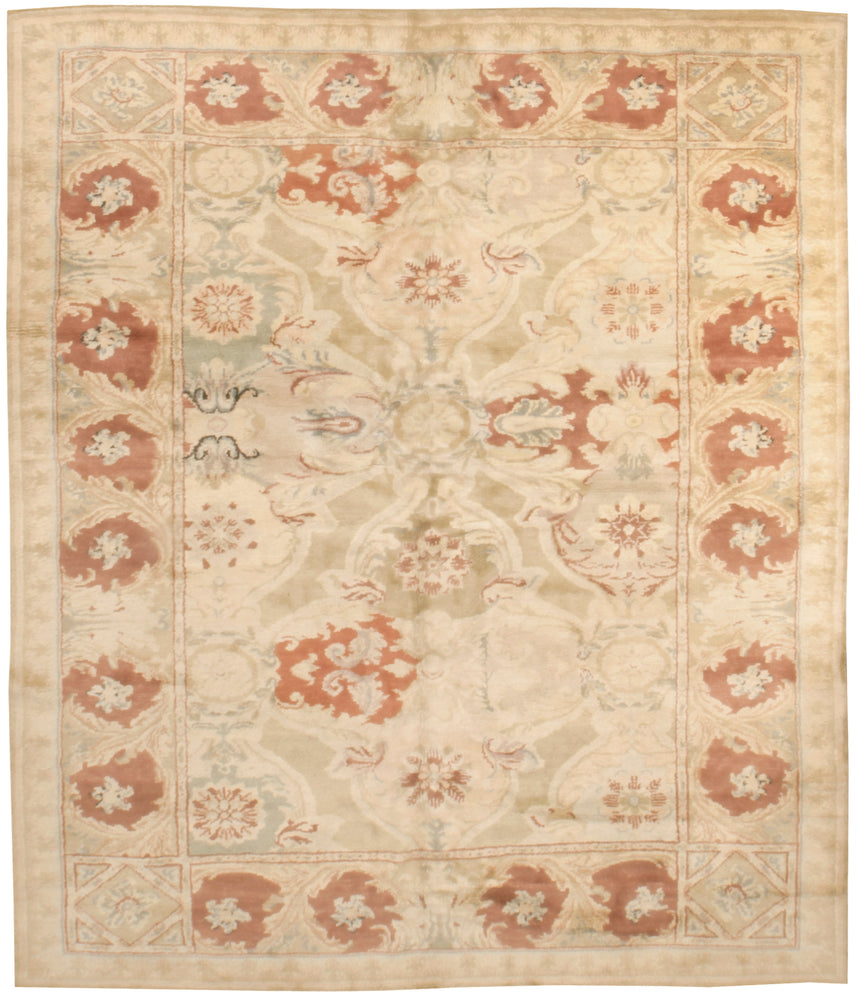 n6246 - European Axeminister Rug (Wool) - 8' x 10' | OAKRugs by Chelsea high end wool rugs, good quality rugs, vintage and antique, handknotted area rugs