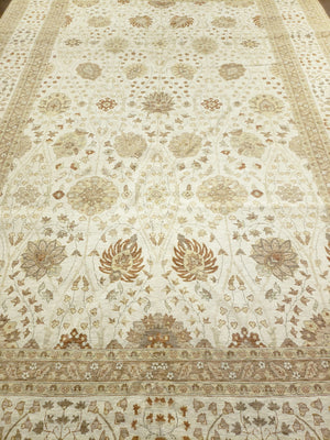 n6248 - Transitional Tabriz Rug (Wool) - 9' x 13' | OAKRugs by Chelsea high end wool rugs, good quality rugs, vintage and antique, handknotted area rugs