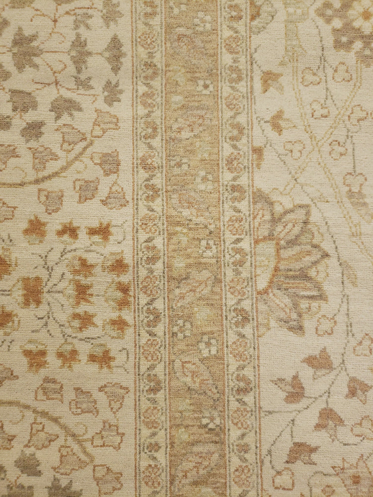 n6249 - Transitional Tabriz Rug (Wool) - 9' x 13' | OAKRugs by Chelsea high end wool rugs, good quality rugs, vintage and antique, handknotted area rugs