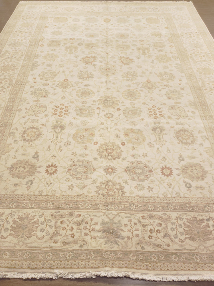 n6251 - Transitional Tabriz Rug (Wool) - 9' x 13' | OAKRugs by Chelsea high end wool rugs, good quality rugs, vintage and antique, handknotted area rugs