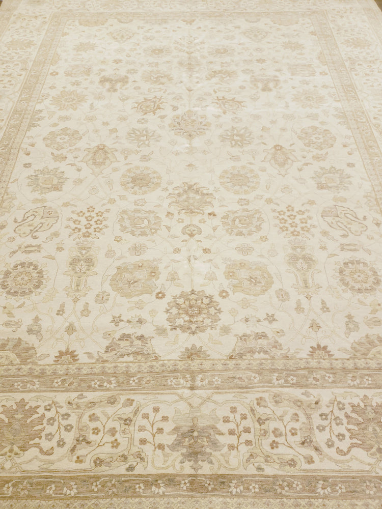 n6253 - Transitional Tabriz Rug (Wool) - 9' x 12' | OAKRugs by Chelsea high end wool rugs, good quality rugs, vintage and antique, handknotted area rugs
