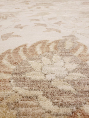 Transitional Tabriz Rug Wool 12 X 17 Oakrugs By Chelsea 12 By 17