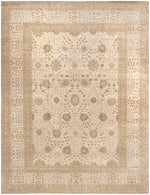 n6254 - Transitional Tabriz Rug (Wool) - 12' x 17' | OAKRugs by Chelsea high end wool rugs, good quality rugs, vintage and antique, handknotted area rugs