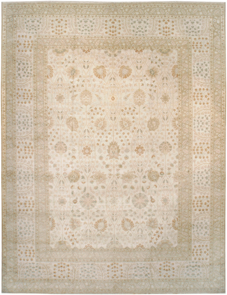 n6255 - Transitional Tabriz Rug (Wool) - 13' x 17' | OAKRugs by Chelsea high end wool rugs, good quality rugs, vintage and antique, handknotted area rugs