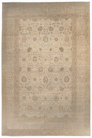 n6260 - Transitional Tabriz Rug (Wool) - 12' x 18' | OAKRugs by Chelsea high end wool rugs, good quality rugs, vintage and antique, handknotted area rugs