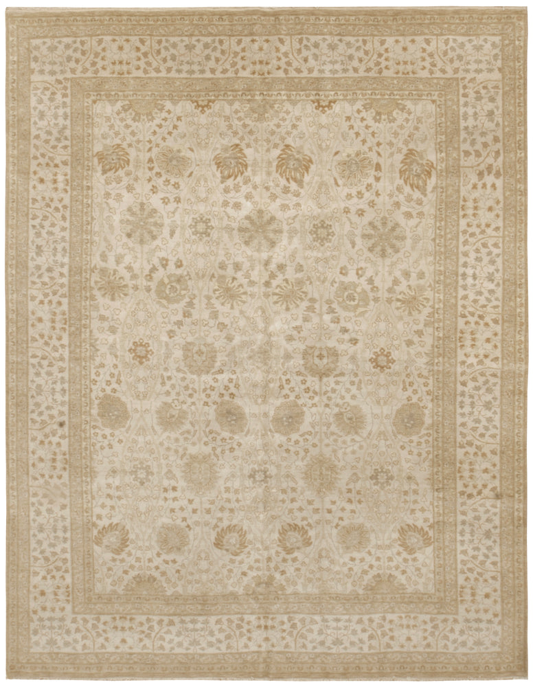 n6262 - Transitional Tabriz Rug (Wool) - 8' x 10' | OAKRugs by Chelsea high end wool rugs, good quality rugs, vintage and antique, handknotted area rugs