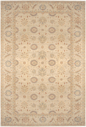 n6263 - Transitional Tabriz Rug (Wool) - 13' x 20' | OAKRugs by Chelsea high end wool rugs, good quality rugs, vintage and antique, handknotted area rugs