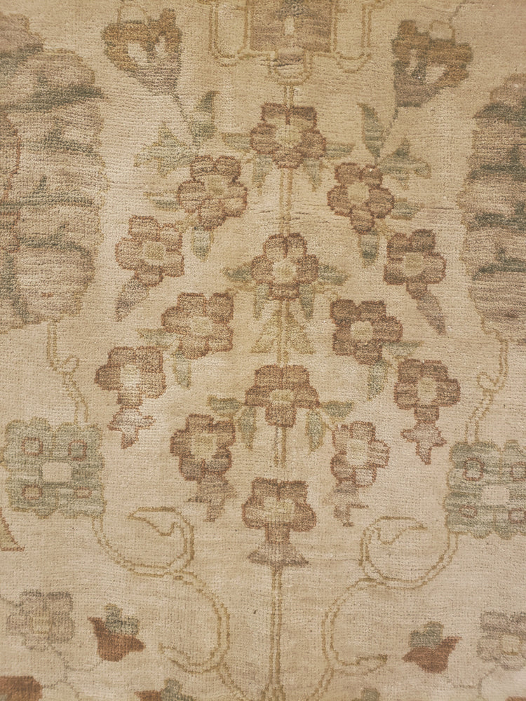 n6264 - Transitional Tabriz Rug (Wool) - 14' x 14' | OAKRugs by Chelsea high end wool rugs, good quality rugs, vintage and antique, handknotted area rugs