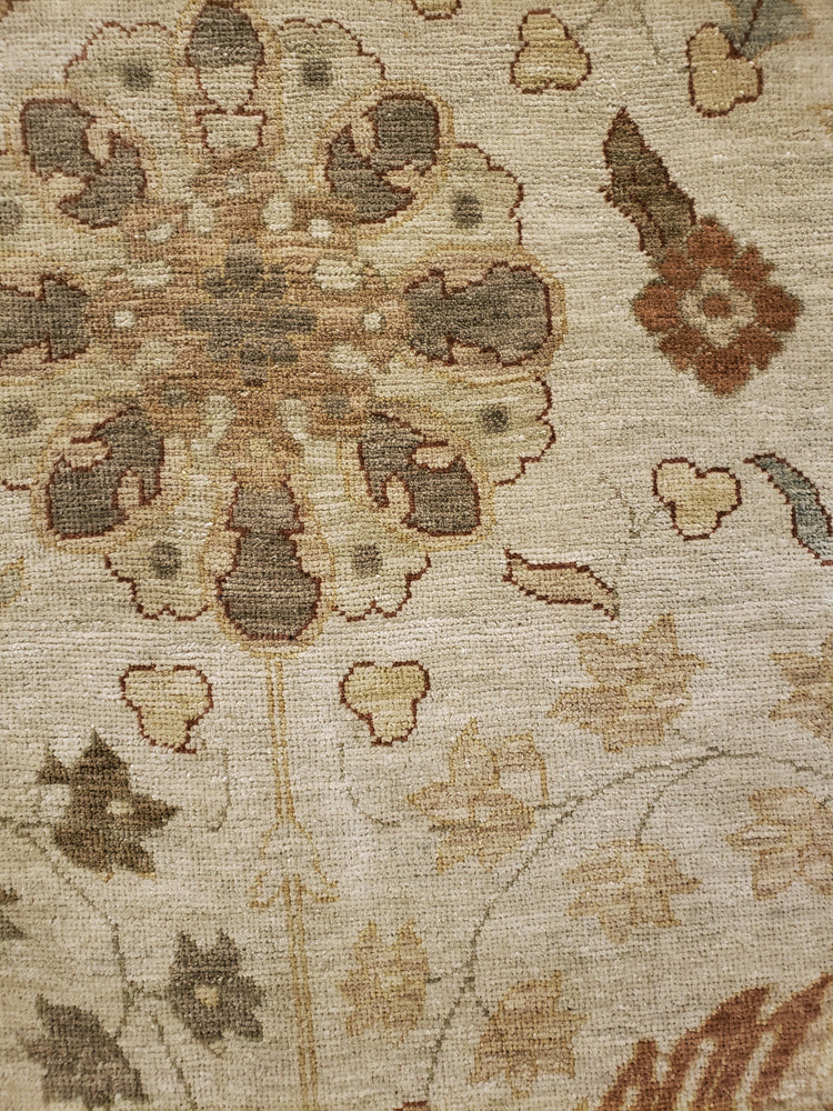 n6266 - Transitional Tabriz Rug (Wool) - 14' x 15' | OAKRugs by Chelsea high end wool rugs, good quality rugs, vintage and antique, handknotted area rugs