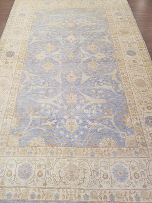 n85 - Classic Tabriz Rug (Wool) - 6' x 9' | OAKRugs by Chelsea wool bohemian rugs, good quality wool rugs, vintage wool braided rug