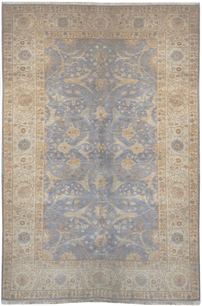 n85 - Classic Tabriz Rug (Wool) - 6' x 9' | OAKRugs by Chelsea affordable wool rugs, handmade wool area rugs, wool and silk rugs contemporary