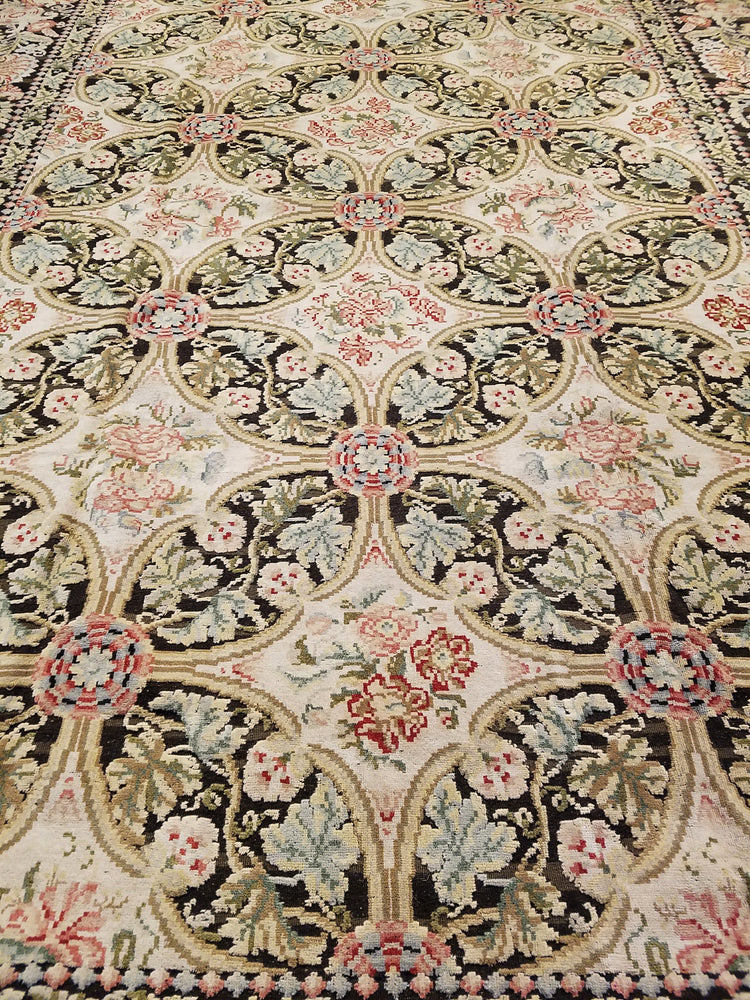 n97 - European Besserebian Rug (Wool) - 12' x 15' | OAKRugs by Chelsea high end wool rugs, hand knotted wool area rugs, quality wool rugs
