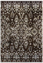 n6060 - Contemporary Rug (Wool and Silk) - 6' x 9' | OAKRugs by Chelsea inexpensive wool rugs, unique wool rugs, wool rug vintage