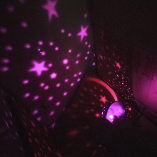 Purple Celestial™ Constellation Star Projector