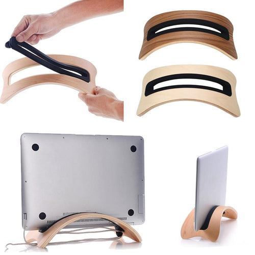 Wooden Stand for Macbook Air/Pro Laptop - Ur One Stop Shop