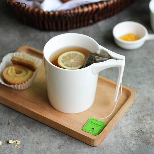 Creative Mug with Teabag Holder
