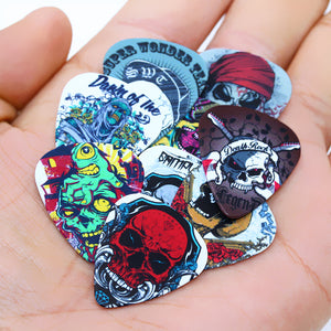 Skull Artwork Guitar Picks - 50pcs - Ur One Stop Shop