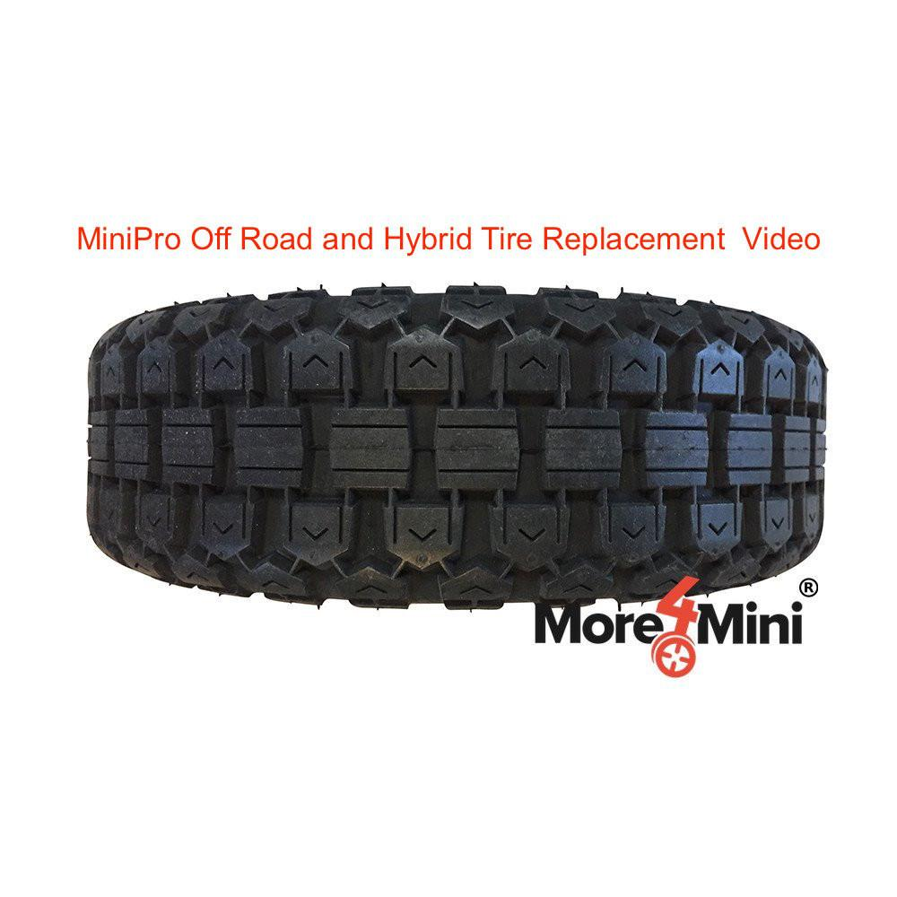 Segway miniPRO Instructional Video on How to Install Off Road or Hybrid Tire