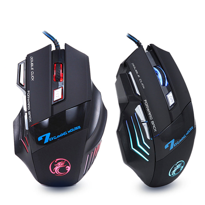 Professional Gaming Mouse- Light Up & Adjustable