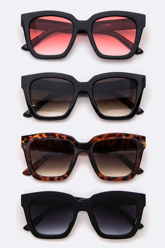 Brie Square Iconic Sunglasses