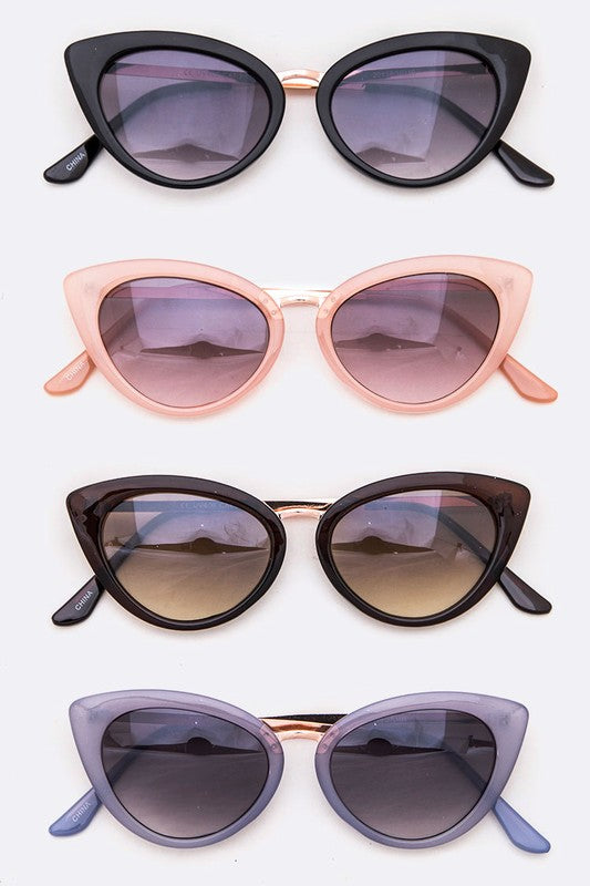 Jill Retro Cat Eye Sunglasses