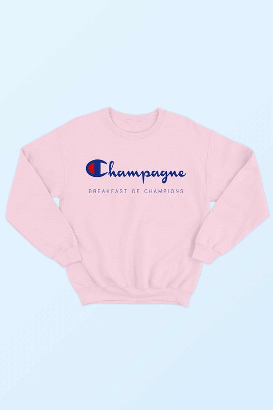 "Pink Champagne ""Breakfast of Champions"""