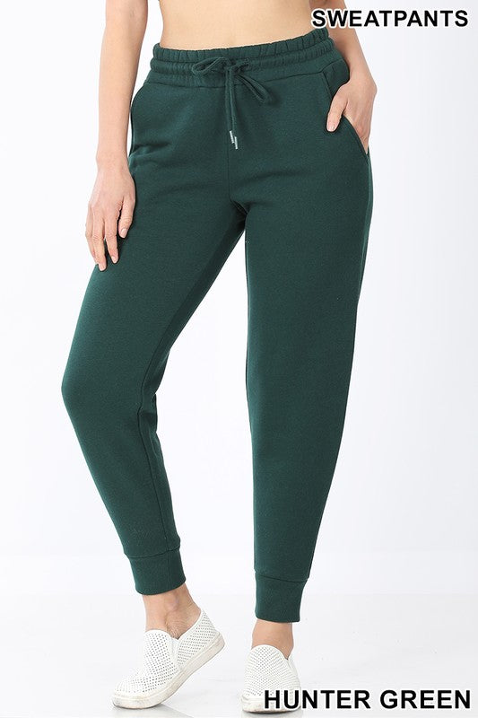 Khloe Hunter Green Joggers