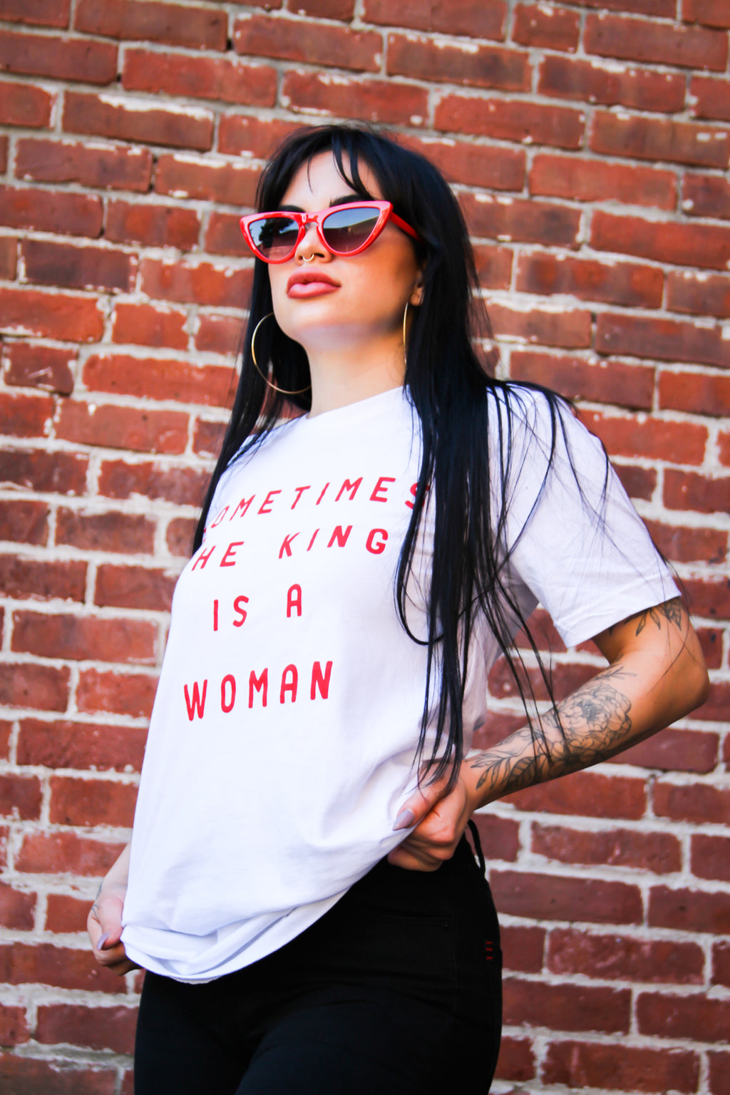 "Bey ""The King Is A Woman"" Tee"