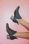 Destiny Dark Brown Booties
