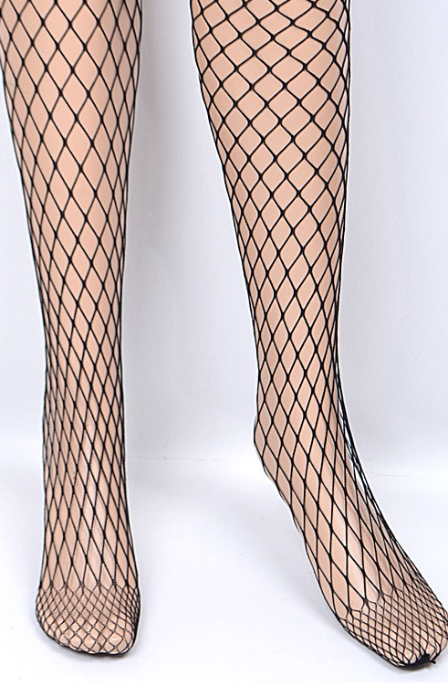 Wild Side Fish Net Stockings