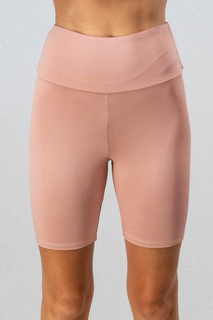 Brandi Blush Pink Bike Shorts