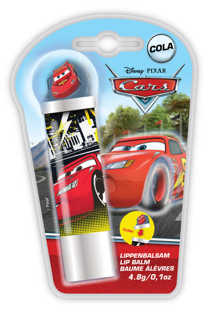 DISNEY CARS Lipbalm with 3D Figurine